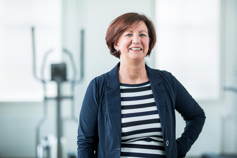 Jolanda Visseren- van Bergen : Fysiotherapeute, geriatrie fysiotherapie, oedeemtherapie